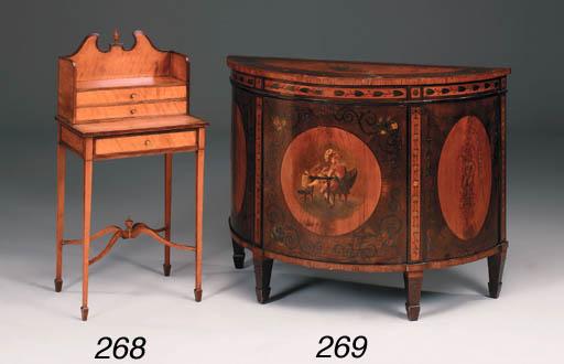 A late Victorian mahogany, sat