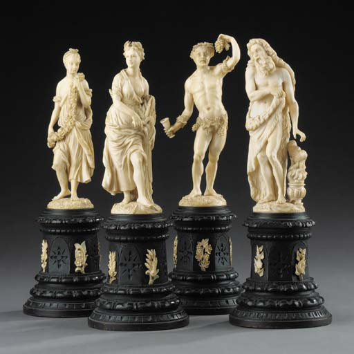 A set of four South German or