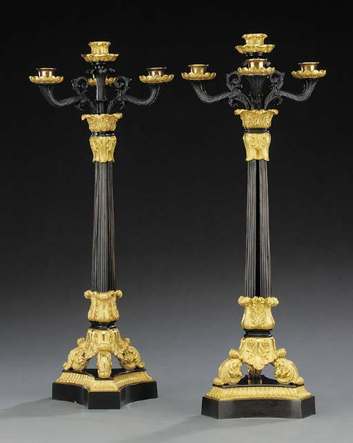 A pair of Louis Philippe gilt
