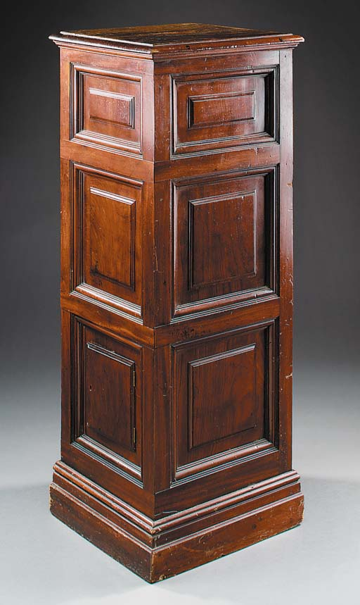 A large mahogany institutional