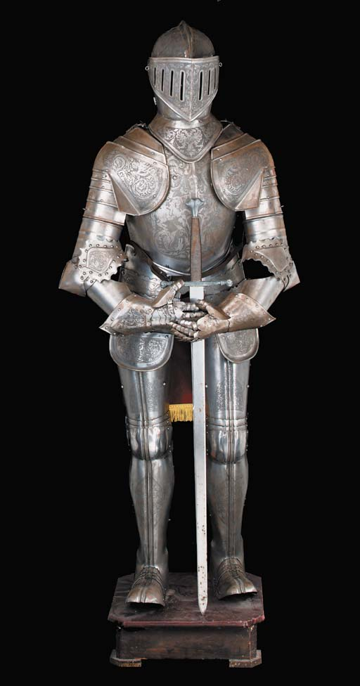 A suit of Armour, 20th century