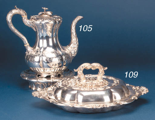 A VICTORIAN COVERED ENTREE DIS