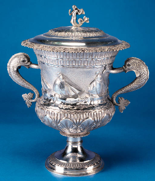A GEORGE IV TROPHY CUP