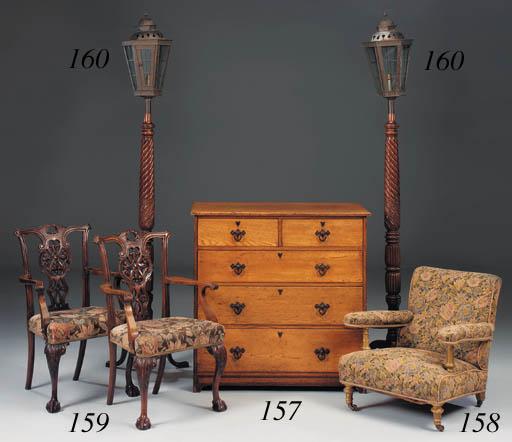 A Howard easy armchair, late 1