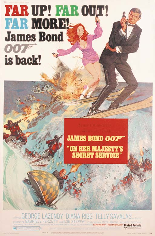 On Her Majesty's Secret Service, 1969