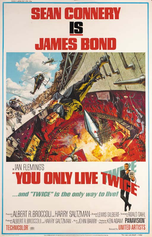 You Only Live Twice, 1967