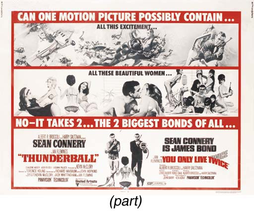 Thunderball/You Only Live Twic