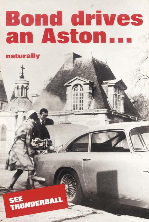 Aston Martin/Thunderball, 1965