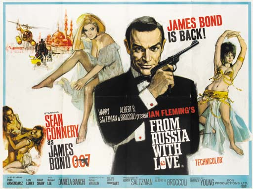 From Russia With Love, 1963