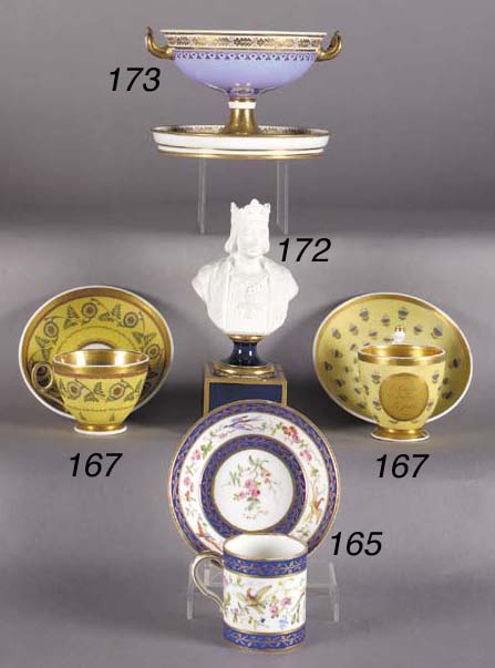 A Paris cabinet cup and saucer