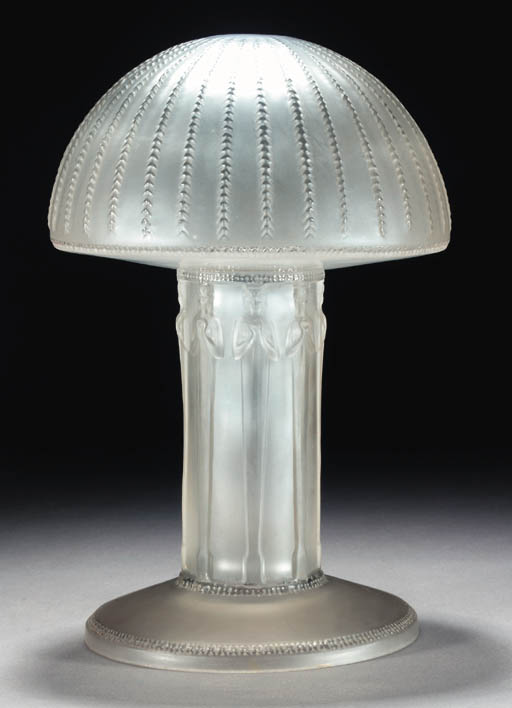 'CARIATIDES' A LALIQUE GLASS L