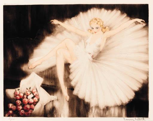 'BALLERINA' BY LOUIS ICART