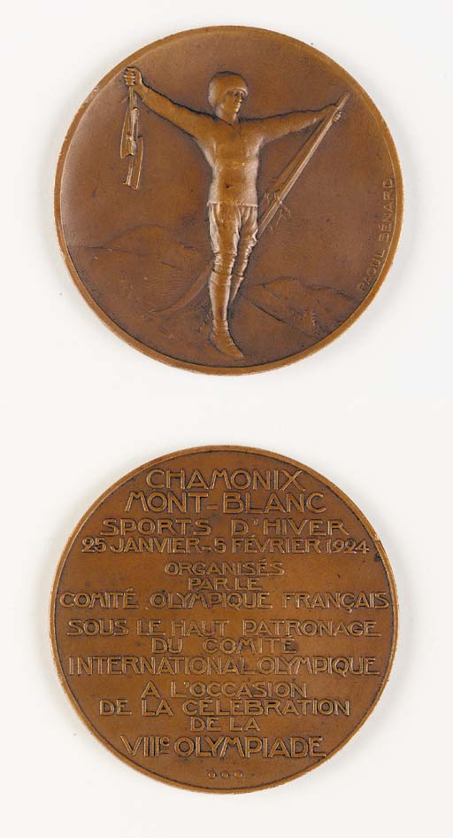 AN OLYMPIC PARTICIPATION MEDAL