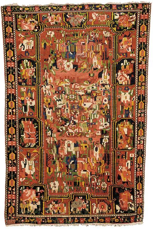 A Bakhtiari rug, West Persia