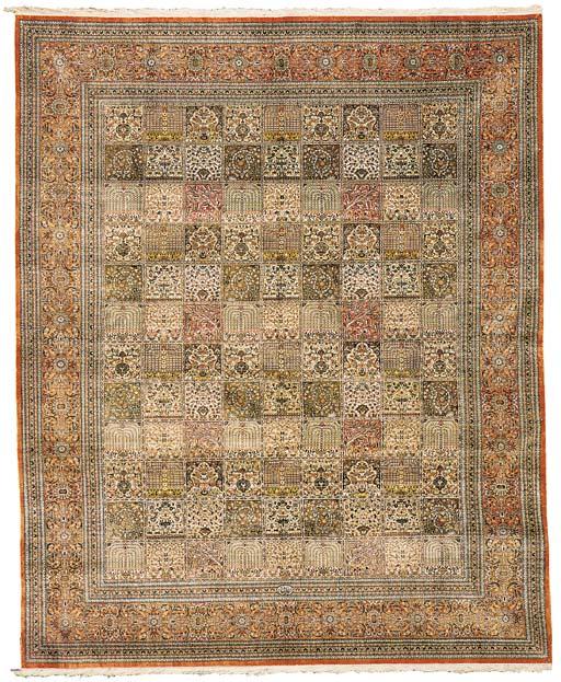 A very fine Dalmaghani silk Qu