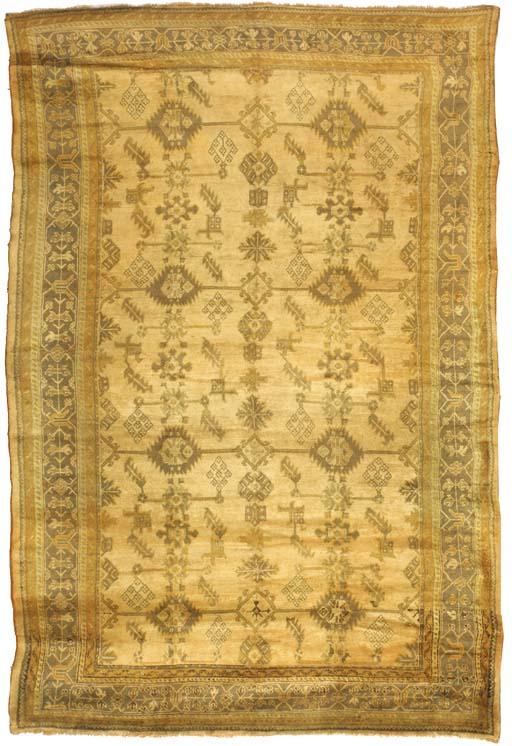 An antique Ushak carpet, Turke
