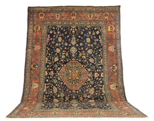 An antique Bijar carpet, North