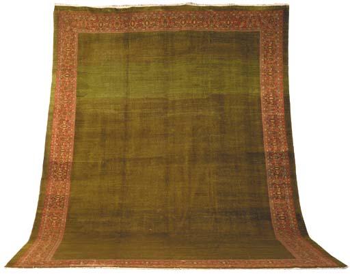 An antique Ziegler carpet, Sul