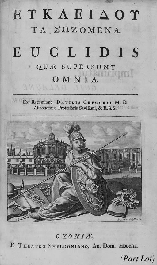 EUCLID.  Euclidis quae supersu
