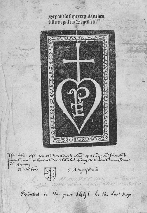 TURRECREMATA, Johannes de.  Ex