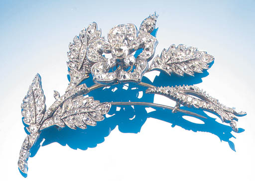 A 19th Century diamond cluster