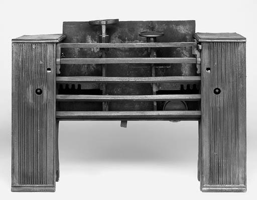 A late George III cast iron ho
