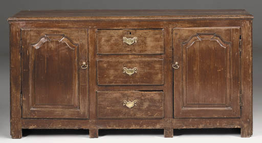 A painted dresser, North Count