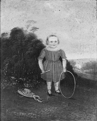 A Victorian naive picture of a