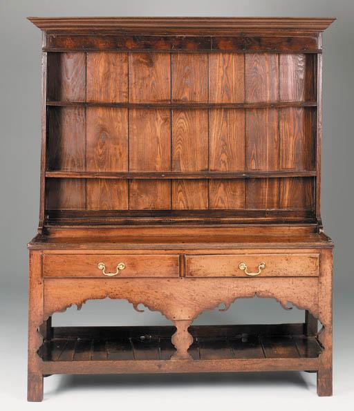 An oak dresser, South Wales, e