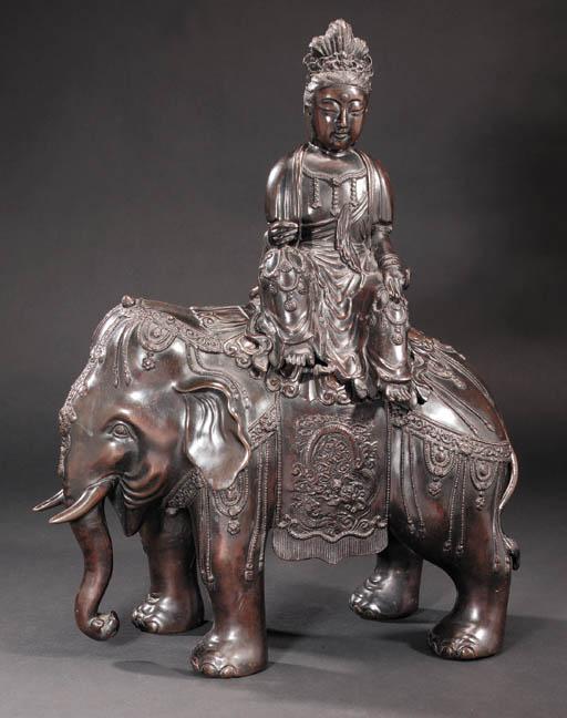 A Japanese bronze figure of Ka