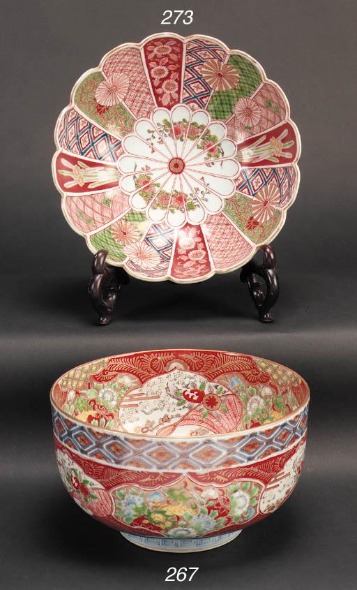 An Imari bowl 19th century