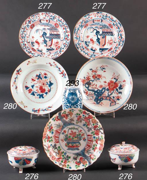 Seven various Chinese Imari di