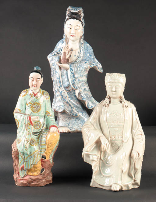 A Chinese porcelain model of G