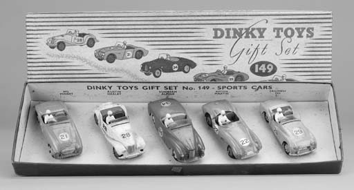 Dinky Gift Set 149 Sports Cars