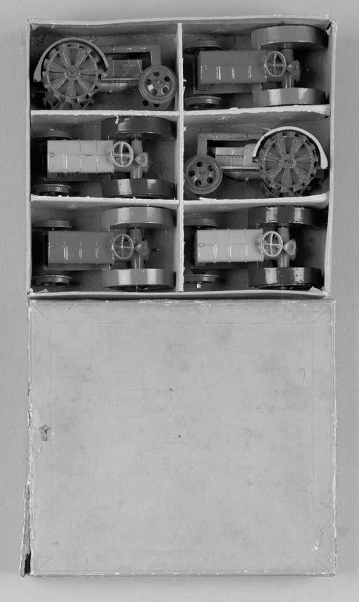 A Dinky pre-war Half-Dozen Tra