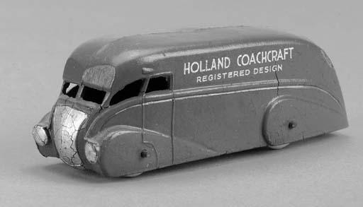 A Dinky pre-war red 31 'Hollan