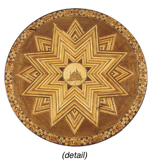 A Continental marquetry and pa