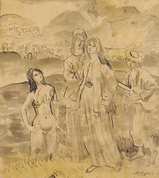 Augustus John, R.A. (1878-1961