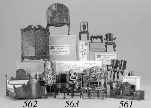 Triang Period dolls' furniture