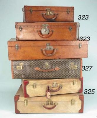 A Louis Vuitton dressing case,