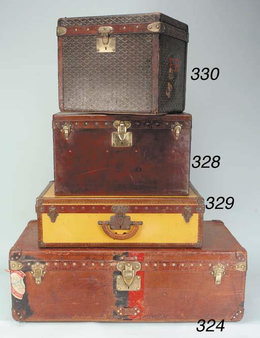 A Louis Vuitton suitcase, cove