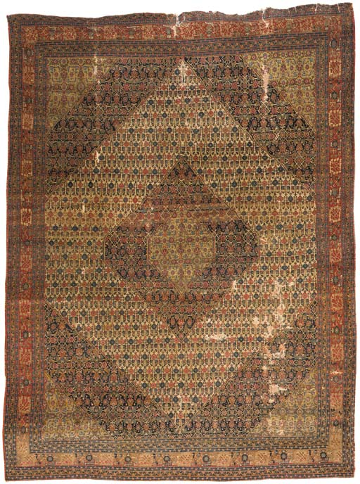 A fine antique Haji-Jalili Tab
