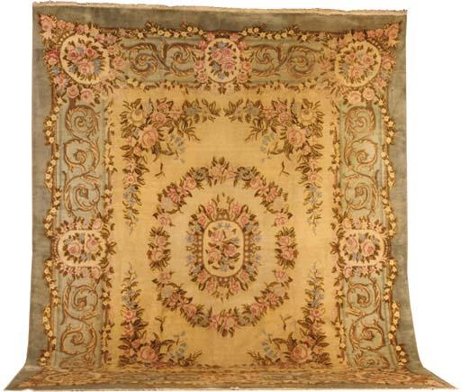 An European carpet of Savoneri