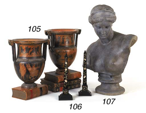 A composition bust of Diana, 2