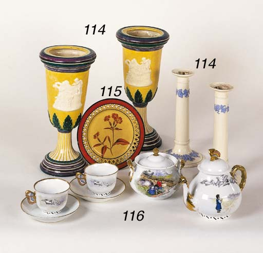 A Russian porcelain part Tea-S