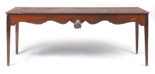 A George II Irish mahogany ser