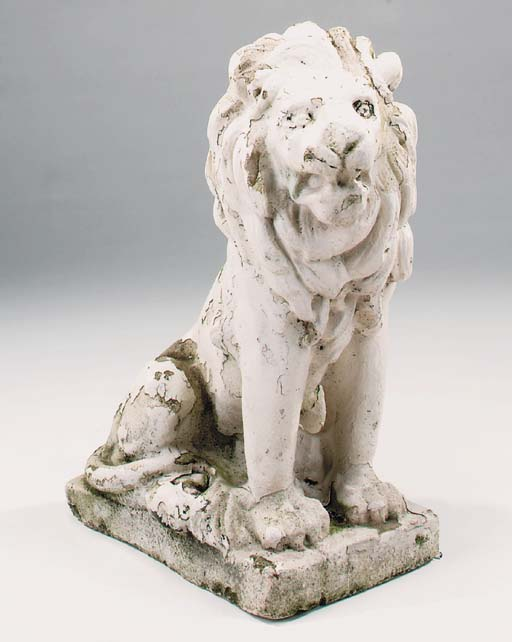 A stone composition model of a
