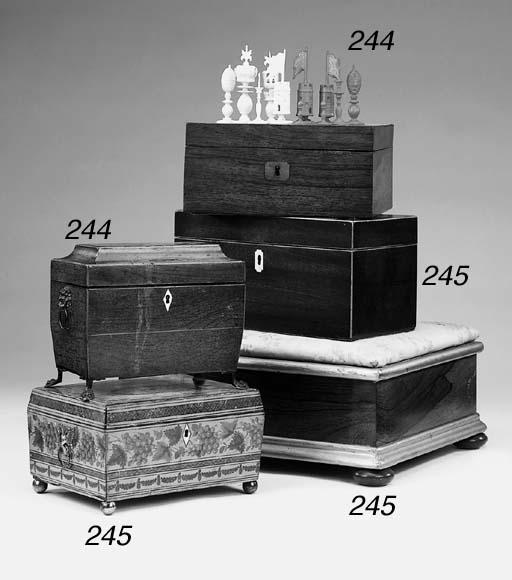 A Regency work box, first quar