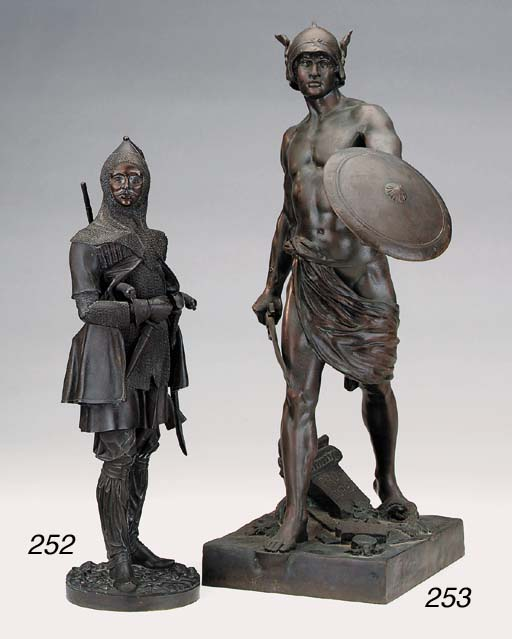 A French bronze of a gladiator