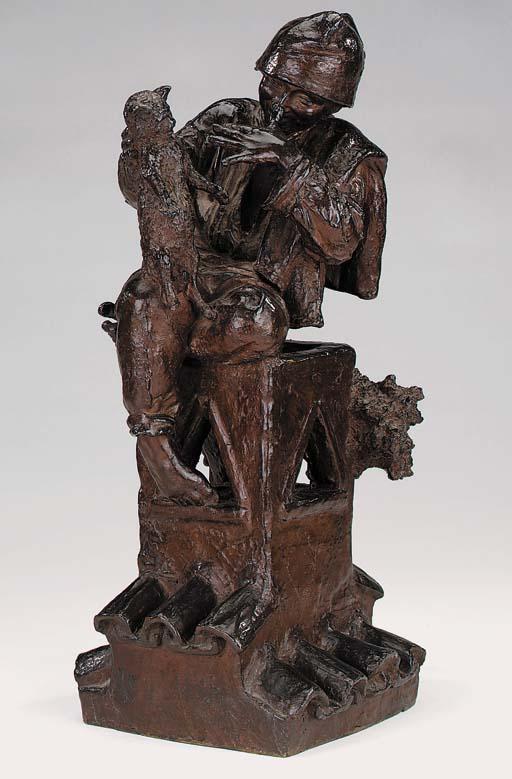 An Italian bronze group